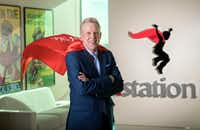 Dick Collins, CEO of Istation(Jeffrey McWhorter/Special Contributor)