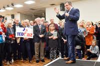"Sen. Ted Cruz has accused Rep. Beto O'Rourke of lacking legislative achievements, saying the Democrat has ""scored political points rather than accomplishing victories for the people of Texas."" (Chelsea Purgahn/Tyler Morning Telegraph via AP)(Chelsea Purgahn/AP)"
