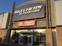 Shoe retailer Skechers is opening in part of the former Sports Authority at 9100 N. Central Expressway in Dallas.(Maria Halkias/Dallas Morning News)