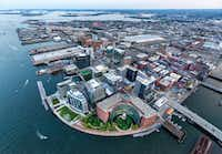 """Boston's Seaport District is a growing, vibrant neighborhood that has come into its own in recent years.(<p><span style=""""font-size: 1em; background-color: transparent;"""">Kyle Klein</span></p>)"""