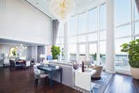 The John Adams Presidential Suite at the Boston Harbor Hotel will set you back $15,000 a night. But the hotel has more affordable rooms, too, with terrific water and city views.(Courtesy/Ryan Garvin)