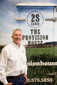 Bart Simmons, owner of 2S Ranch and The Provision House(Rose Baca/Staff Photographer)