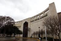 The Saks Fifth Avenue at The Galleria in Dallas is now a Belk store. (Lara Solt/Staff Photographer)