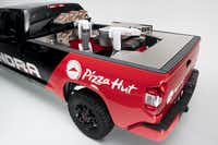 The prototype Tundra PIE Pro developed by Toyota and Pizza Hut.(Toyota )