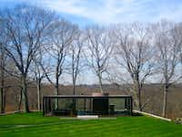 The Glass House, or Johnson house, is a historic house museum in New Canaan, Conn. Built in 1948-49, it was designed by Philip Johnson as his own residence. Johnson lived in the Glass House from 1949 until his death in 2005.(Mark Lamster)