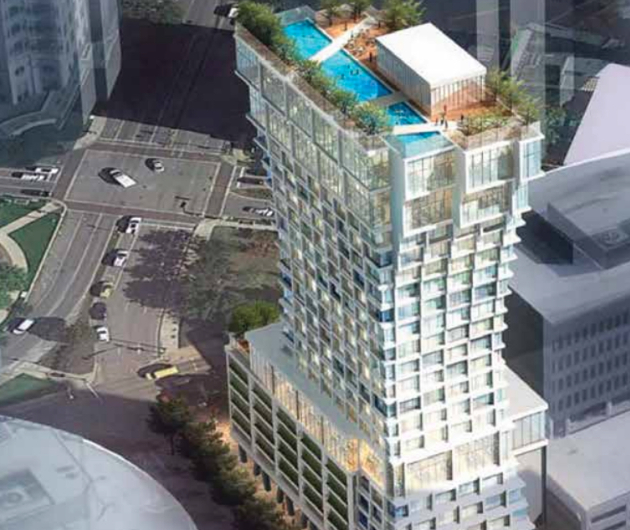 New Harwood Hotel Will Be An Eye Popping Addition To Uptown Dallas Skyline Real Estate News
