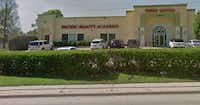 Pacific Beauty Academy School, on Audelia Road in far northeast Dallas, was shut down last month.(Google Maps)