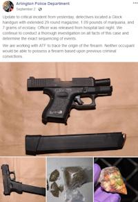 Arlington Police Department(Facebook screenshot)