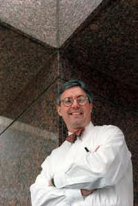 Bryce Weigand, photographed in 1997 when he was president of AIA Dallas  (File Photo)