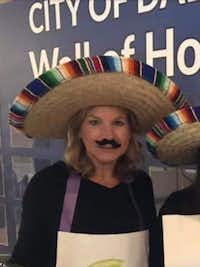 This photo, originally posted on Jennifer Staubach Gates' Facebook page and Twitter feed, was taken at City Hall's Halloween celebration.