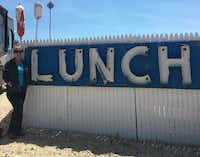 "<p><span style=""font-size: 1em; background-color: transparent;"">The famed Lobster Roll restaurant in Amagansett, N.Y., has an iconic blue ""LUNCH"" sign and delicious seafood. </span></p>(Keven Ann Willey/Special Contributor)"