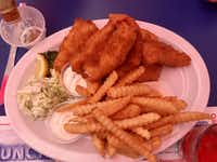 "The Lobster Roll restaurant serves the ""best fish and chips I ever had,"" award-winning chef Georges Badoux says. (Keven Ann Willey/Special Contributor)"