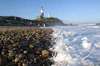 The Montauk Lighthouse has been lighting the way for ships off the Long Island coast since 1797, making it the oldest active lighthouse in New York and the fourth-oldest in the United States. (2009 File Photo /Newsday)