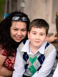 """<p><span style=""""font-size: 1em; background-color: transparent;"""">Lorenzo Fullen and his mom, Lori Fullen, around the time he was first diagnosed. The Fullens live in Frisco, and their lives were changed when genetic testing revealed Lorenzo's seizures could be easily treated.</span></p>(Lori Fullen)"""