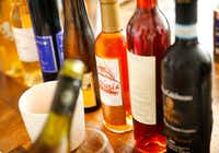 Dessert wines are typically sold in smaller bottles.(Tom Fox/Staff Photographer)