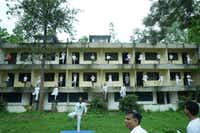 """<p><span style=""""font-size: 1em; background-color: transparent;"""">The """"Puri"""" accommodation block in Rishikesh has seen better days. Officials are considering plans to redevelop the site.</span></p>(Courtesy/India Tourism)"""