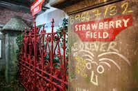 """<p><span style=""""font-size: 1em; background-color: transparent;"""">The Beatles Story museum in Liverpool has the famed Strawberry Field gates, among other Beatles memorabilia</span></p>(Courtesy/The Beatles Story, Liverpool)"""
