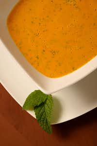 Make carrot soup with coconut milk one season; almond milk in another.(Sacred & Delicious )