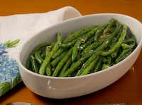 Cookbook author Lisa Joy Mitchell makes this dish, Elegant Green Beans, almost weekly.(Sacred & Delicious)