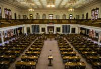 <p>Democrats picked up 12 seats in the Texas House, meaning that in January, they will hold 67 seats in the 150-member chamber.</p>(Ashley Landis/Staff Photographer)