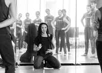 Bruce Wood Dance artistic adviser and former artistic director Kimi Nikaidoh re-stages 2001's <i>Local 126</i> on the company.(Sharen Bradford)