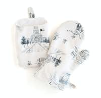 Texas Modern Toile Mitt and Potholder Set by Surface Love for Minted, $26(Minted)