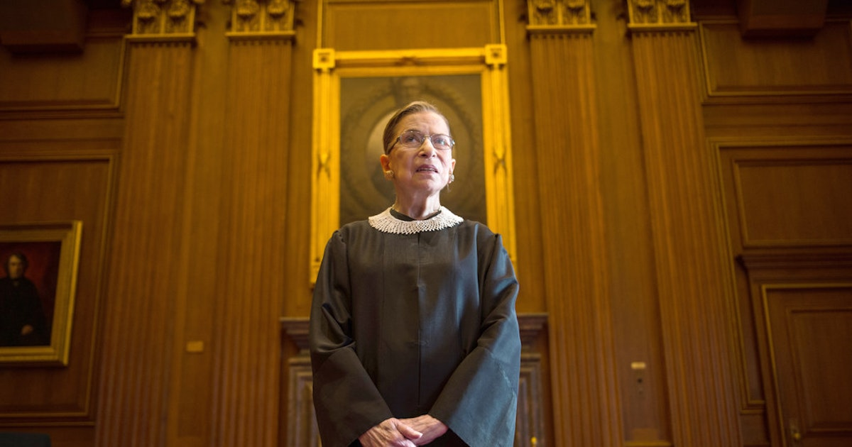 After Ruth Bader Ginsburg's cancer surgery, Cornyn wishes her 'long and happy life —in retirement'