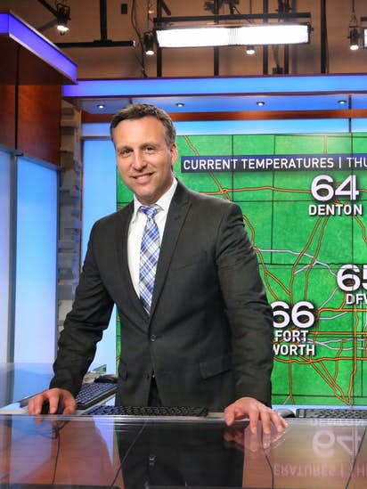 Meet your meteorologist: 10 questions with NBC5's Rick Mitchell