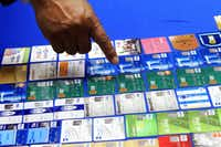 <p><p>McAllen Police Chief Victor Rodriguez displayed dozens of fraudulent credit cards that were confiscated by McAllen police in January 2014 after arresting a man and a woman on fraud charges tied to a Target credit card breach.</p></p>(File Photo/The Associated Press)