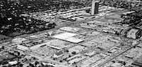 May 1, 1965 aerial photo of Preston Center, Northwest highway at Preston Road(Tom Dillard/Staff Photographer)