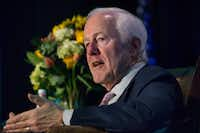 U.S. Sen. John Cornyn, R-Texas, says new means of funding highways are needed.(Daniel Carde/Staff Photographer)