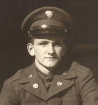"Albert ""Buddy"" Mills in a photo taken before he was sent overseas.<br>(Courtesy of Eva and Randy Arnold<br>)"