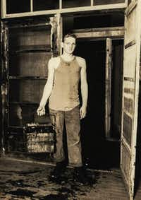 Buddy Mills in Japan, before being sent to South Korea<br>(Courtesy of Eva and Randy Arnold<br>)