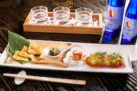 "<p>The restaurant at Nobu Hotel <span style=""font-size: 1em; background-color: transparent;"">debuted a multicourse caviar omakase menu to mark its fifth anniversary. The hotel is getting a top-to-bottom refresh. </span></p>(Caesars Palace)"