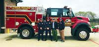 """<p><span style=""""font-size: 1em; background-color: transparent;"""">Flower Mound Fire Department sent five firefighters and a vehicle to California to help battle the Woosley fire.&nbsp;</span></p>(Flower Mound Fire Department)"""