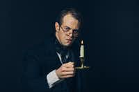 Alex Organ stars as Scrooge in <i>A Christmas Carol</i>, presented by Dallas Theater Center at the Wyly Theatre Nov. 21-Dec. 30.(Paxton Maroney)