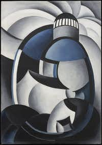"""Ida O'Keeffe's""""<i>Variation on a Lighthouse Theme II,</i>&nbsp;c. 1932, Private Collection(The Dallas Museum of Art/The Associated Press)"""