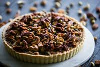 Caramelized Nut Tart(Ashley Landis/Staff Photographer)