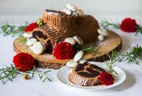 How To Make A Chocolate Espresso Buche De Noel Yule Log Cake With