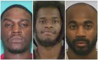"""<p><span style=""""font-size: 1em; background-color: transparent;"""">From left: Marcellus Burgin, 29, of Cypress and Rasul Scott, 27, of Louisiana were sentenced Tuesday to 25 years and 17 1/2 years in prison, respectively, and Chimene Onyeri got a life sentence last month.</span></p>"""