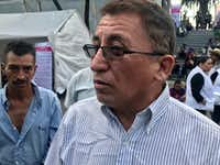 Bartolo Fuentes, a left-leaning former Honduran legislator, has been accused of organizing a massive caravan of migrants bound for the United States, a charge he denies.(Alfredo Corchado/Staff )