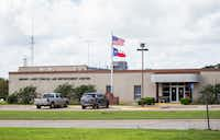 The Parker County Jail in Weatherford is privately operated by LaSalle Corrections under a contract. Andy DeBusk died in the jail in 2016 after guards pepper sprayed him and restrained him.(Ashley Landis/Staff Photographer)