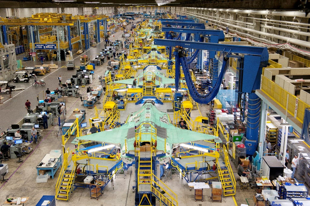 With 22 Billion F 35 Contract On The Way Lockheed Martin Will Add