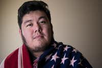 DACA recipient Gabriel Estrada of Arlington came to the United States 19-years ago from Mexico City.(Carly Geraci/Staff Photographer)