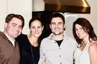 From left: Michael Ruff, Tracy Ruff Bakshi, Mark Ruff and Kelly Ruff Frazier in earlier times.(Kelly Ruff Frazier)