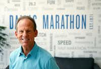 Paul Lambert, president of the BMW Dallas Marathon.(Vernon Bryant/Staff Photographer)