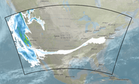 The HRRR smoke field model from the National Oceanic and Atmospheric Administration shows smoke from the California wildfires extending across the country. (National Oceanic and Atmospheric Administration )