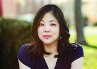Nicole Chung, author of<i> All You Can Ever Know</i>.  (Erica B. Tappis/Counterpoint Press)