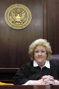 U.S. District Court Judge Janis Graham Jack in December 2005(Rachel Denny Clow/Corpus Christi Caller-Times)