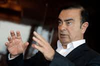 Nissan Chairman Carlos Ghosn(Kin Cheung/AP)